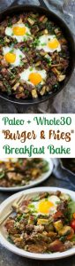 """Bacon Burger & Fries"" Paleo Breakfast Bake Recipe (Whole30)"