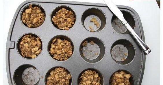 apple cinnamon baked oatmeal cups {gluten-free, dairy-free, nut-free, soy-free}
