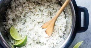 Cilantro Lime Instant Pot Rice
