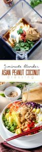 Asian Peanut Coconut Dressing