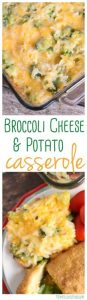 Broccoli Cheese Potato Casserole