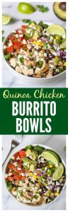 Chipotle Burrito Bowl with Chicken Quinoa and Avocado Recipe