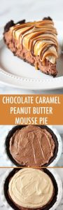 Chocolate Peanut Butter Caramel Mousse Pie Recipe