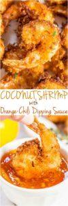 Coconut Shrimp with Orange-Chili Dipping Sauce Recipe