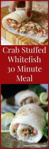 Crab Stuffed Whitefish