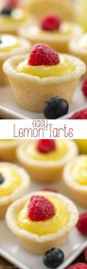 Easy Lemon Tarts Recipe