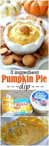 Easy Pumpkin Pie Dip Recipe (Just 3 Ingredients)