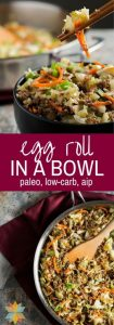 Egg Roll in a Bowl Recipe – low carb, gluten-free, AIP option