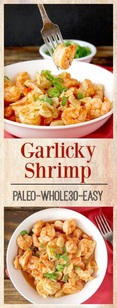 Garlicky Shrimp Recipe