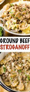 Ground Beef Stroganoff Recipe (Hamburger)