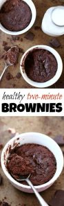 Healthy Two Minute Brownies Recipe