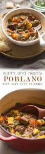 Hearty Poblano Beef Stew