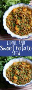 Lentil and Sweet Potato Stew Recipe