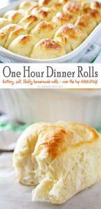 One Hour Dinner Rolls Recipe