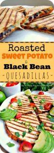 Roasted Sweet Potato and Black Bean Quesadillas Recipe