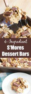 S'Mores Dessert Bars Recipes