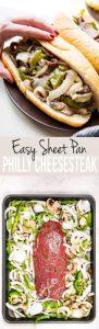 Sheet Pan Philly Cheesesteak Recipe