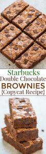 Starbucks Double Chocolate Brownies (Copycat Recipe)