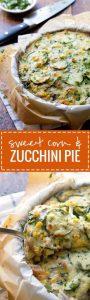 Sweet Corn and Zucchini Pie Recipe