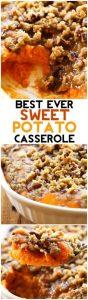 Sweet Potato Casserole (Thanksgiving Side Dish)