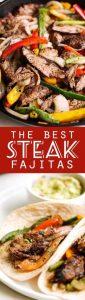 The BEST Steak Fajitas