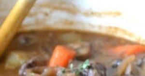 Ina Garten's Beef Bourguignon