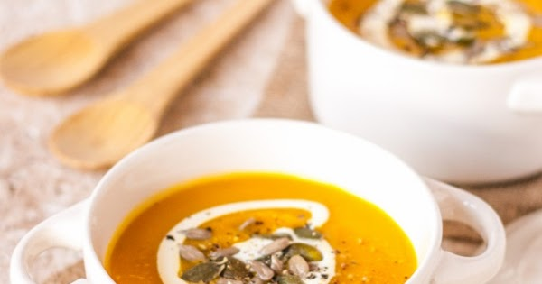 Spiced Pumpkin Carrot and Sweet Potato Soup