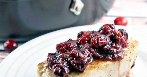 Cranberry Maple Pork Chops