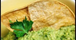 Clean Eating Chips And Guacamole