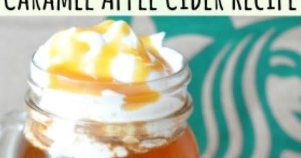 Homemade Starbucks Caramel Apple Cider