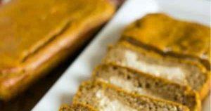 Low Carb Cream Cheese Pumpkin Bread