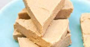 Semi-Raw Gluten-Free Dairy-Free Pumpkin Pie Fudge