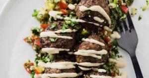 Lebanese Beef Kofta Spiced Meatballs