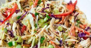 Asian Chicken Chopped Salad (Whole30 Paleo Keto)