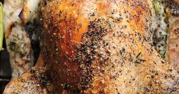 Mayonnaise Roasted Turkey Recipe