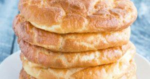 Keto Cloud Bread – Low Carb Burger Buns