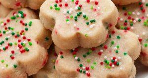 3 Ingredient Buttery Shortbread Cookies