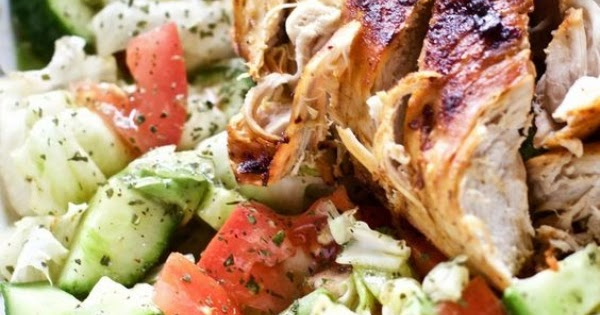 Blackened Chicken and Avocado Salad