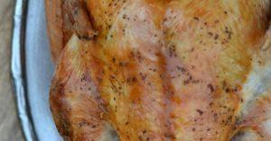 Dry Brined Roast Turkey