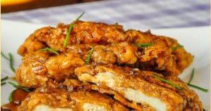 Double Crunch Honey Garlic Chicken Breasts