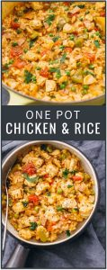 One Pot Chicken and Rice Dinner Recipe
