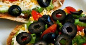 Vegetarian Seven-Layer Tostadas