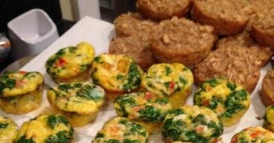 Mini Veggie Omelets