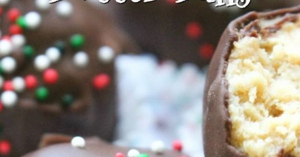 Holiday Peanut Butter Balls