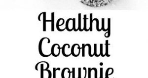 DARK CHOCOLATE COCONUT BROWNIE BITES