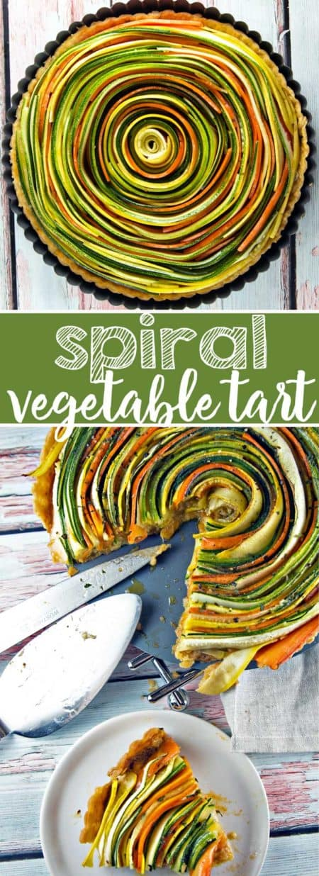 Spiral Vegetable Tart