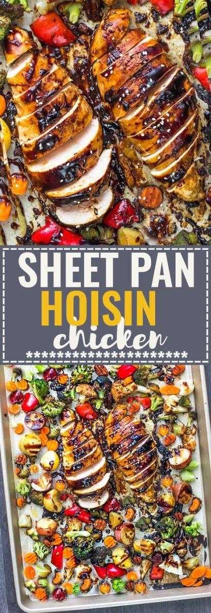 Sheet Pan Hoisin Chicken Recipe