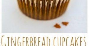 Christmas Gingerbread Latte Cupcakes