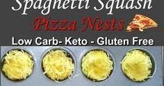 SPAGHETTI SQUASH PIZZA NESTS