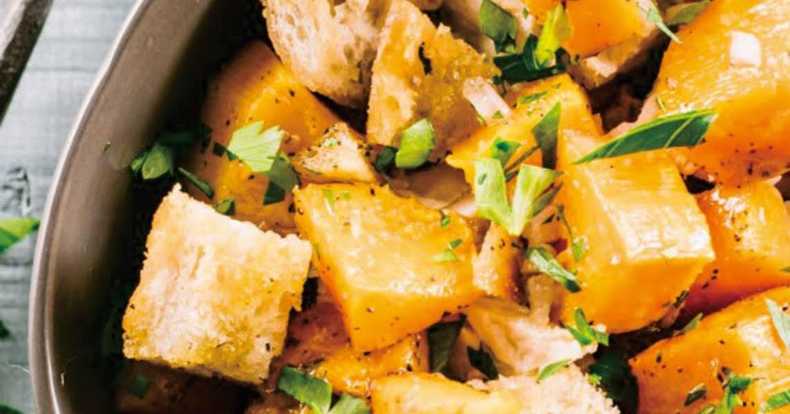 Sheet Pan Roasted Butternut Squash & Chicken Dinner